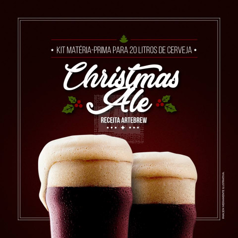 Christmas Ale - Kit Matéria-prima para 20 litros de cerveja.