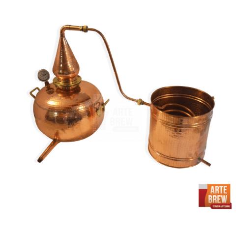 Destilador Artesanal Pot Still para Whisky e Gin