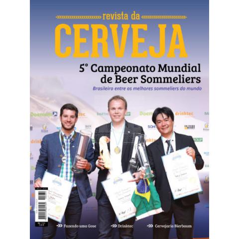 Revista da Cerveja Edição 31º  -  BRASILEIRO ENTRE OS MELHORES SOMMELIERES DO MUNDO, DRINKTEC E CULINÁRIA FRANCESA