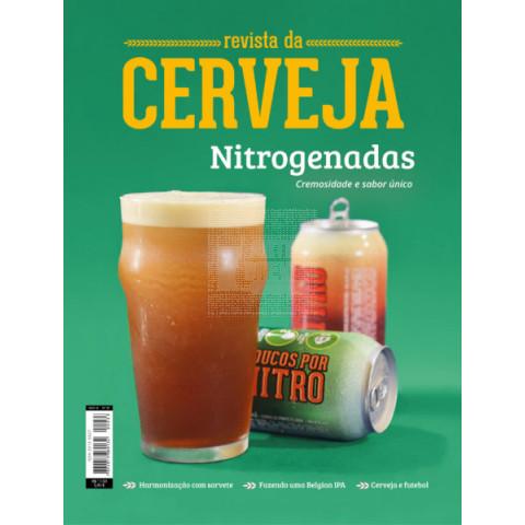 Revista da Cerveja Edição 33º  - NITRO BEERS, BARES-ANTIQUÁRIOS E SUSTENTABILIDADE