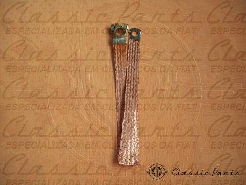 CABO C/ TERMINAL ATERRAMENTO (CORDOALHA) BATERIA FAMILIA FIAT 147/UNO