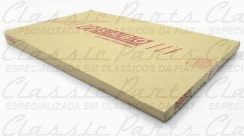 JOGO JUNTA C/ RETENTOR GASOLINA FAMILIA FIAT 147/UNO 1050/1300 ORIGINAL