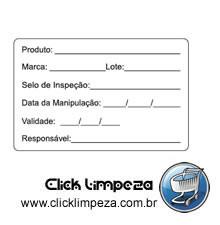 Etiqueta de Identificação (Rótulo B) - AL