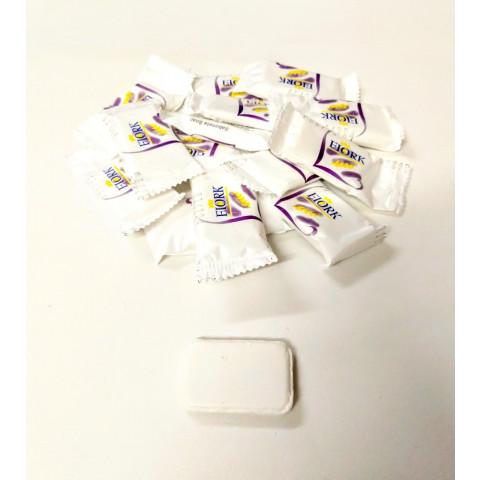 Mini Sabonete  Branco 11g Erva Doce Fiork Hotel Motel Pousada Lavabo Banheiro c/500un