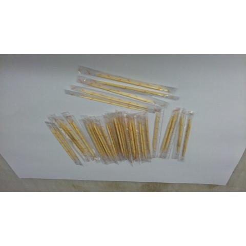 palito dente madeira em sache  - CX c/ 2000 unidades