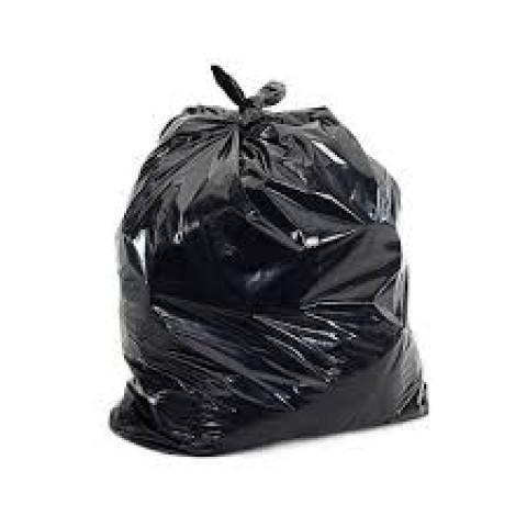 Saco para Lixo PRETO 60litros Reforçado c/100un