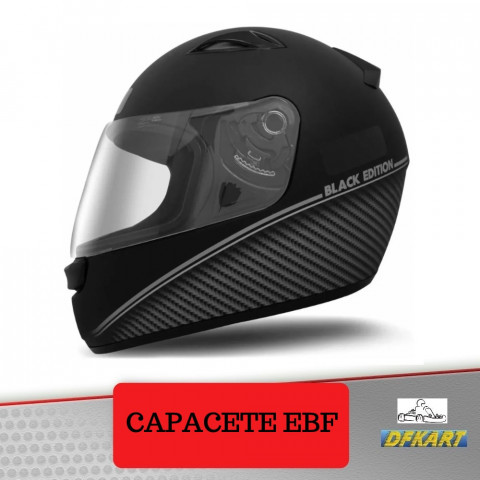 CAPACETE EBF BLACK EDITION