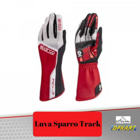 Luva TRACK KG-3 - SPARCO