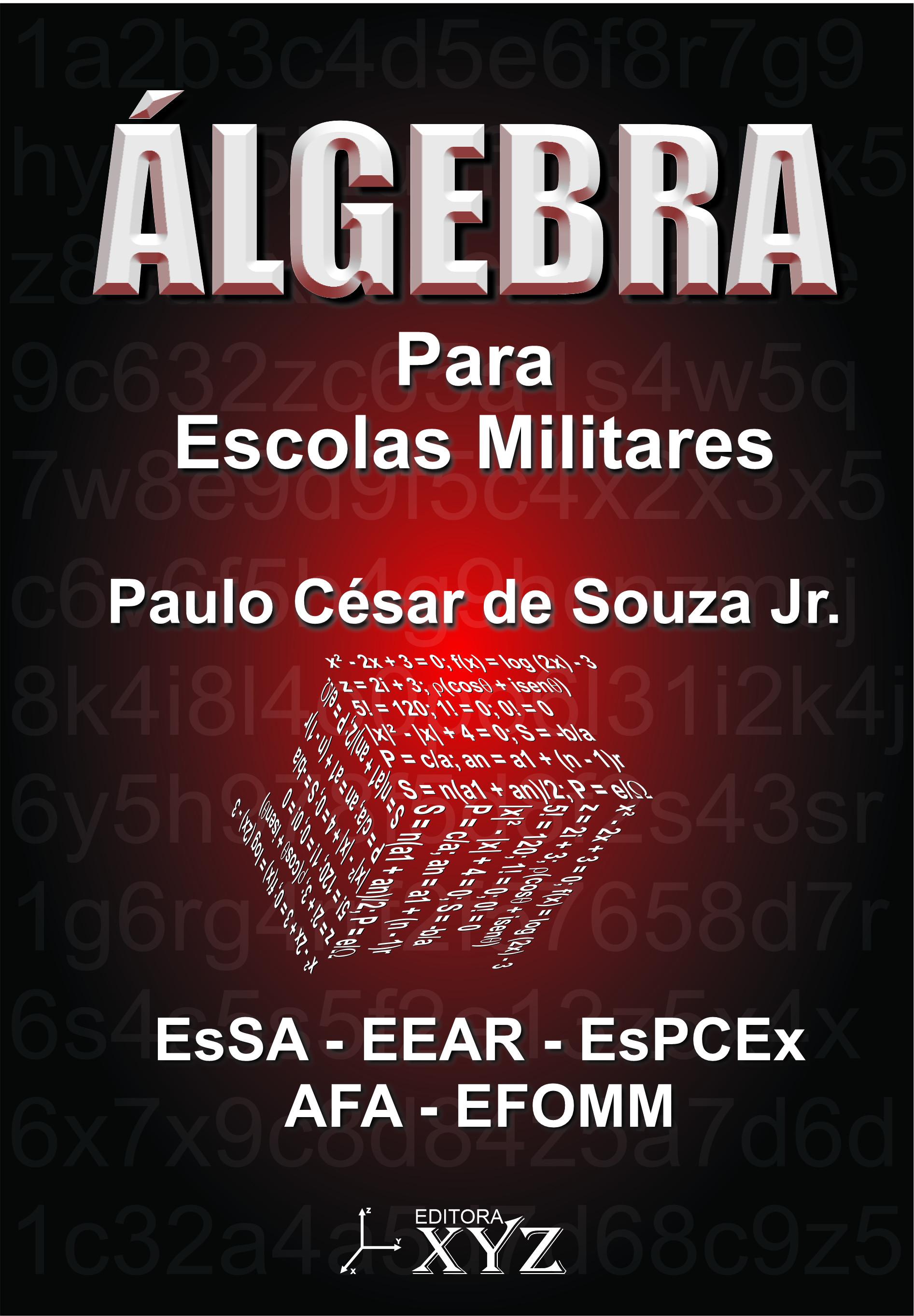 ÁLGEBRA PARA ESCOLAS MILITARES