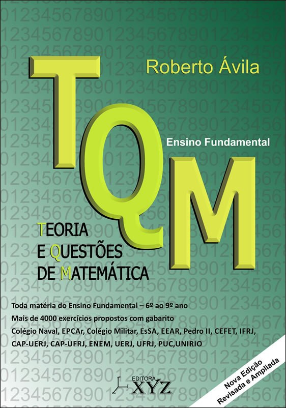 TQM - Teoria e Questões de Matemática (Ensino Fundamental)