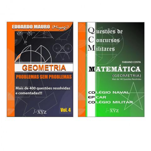 Geometria Problemas sem Problema Vol. 4 + QCM Geometria