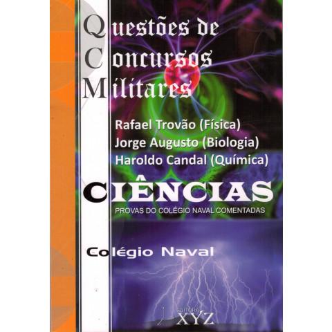 QCM - Questões de Concursos Militares (Colégio Naval) - CIÊNCIAS