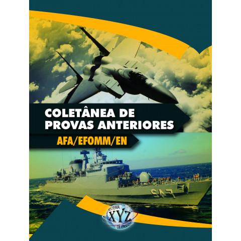 Coletânea de Provas Anteriores (AFA, EFOMM, E.N.)