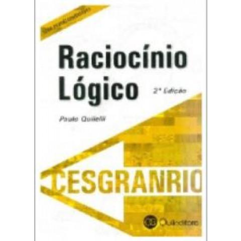 Raciocínio Lógico Cesgranrio 2ª edição