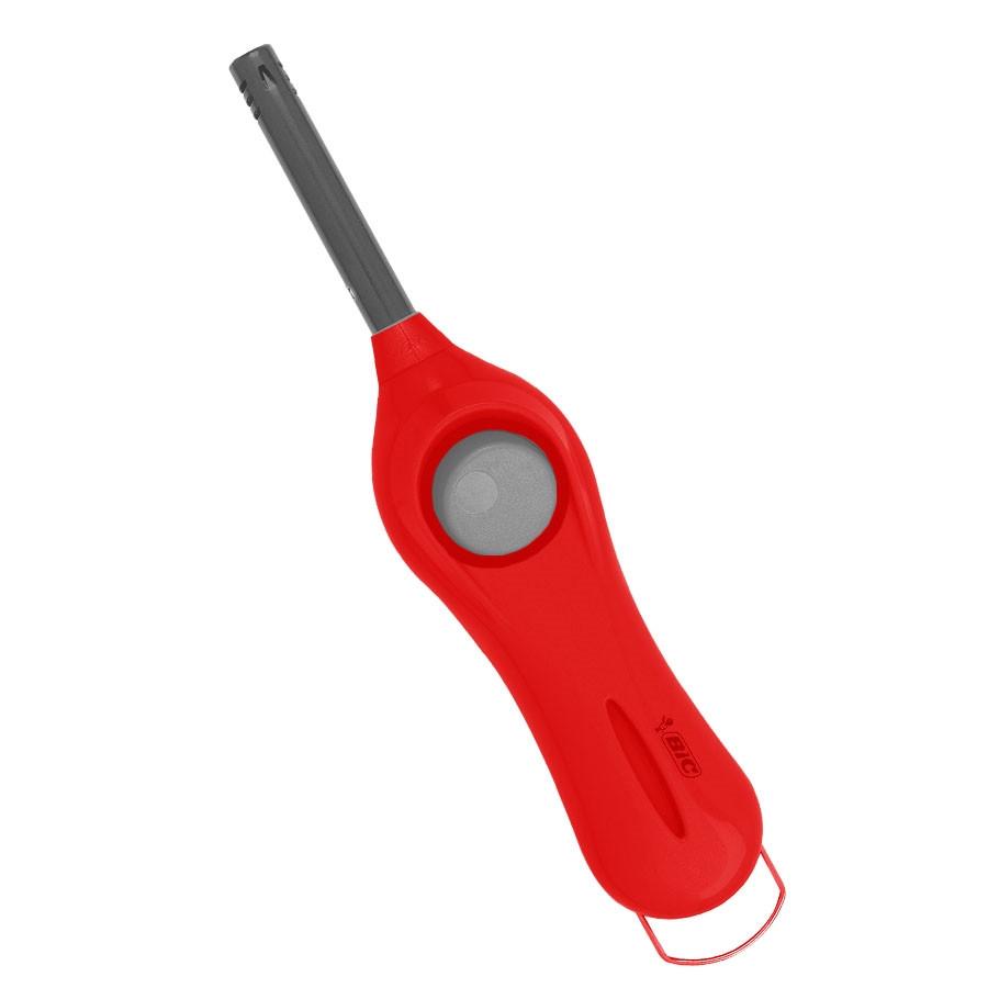Acendedor Multiuso Mega Lighter Vermelho Bic