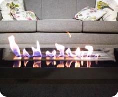 Queimador Ecológico Para Lareira Etanol De 42 Cm Com Fita Térmica