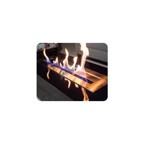 Queimador Ecológico Para Lareira Etanol De 58 Cm Com Fita Térmica
