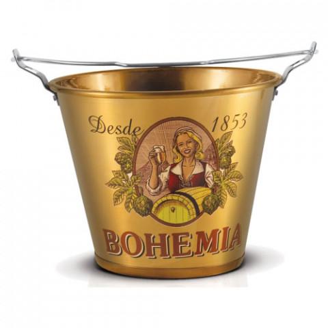 Balde de Gelo em Alumínio Bohemia Edição Histórica