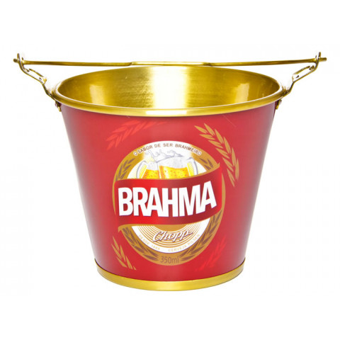 Balde De Gelo Em Alumínio Brahma - Doctor Cooler