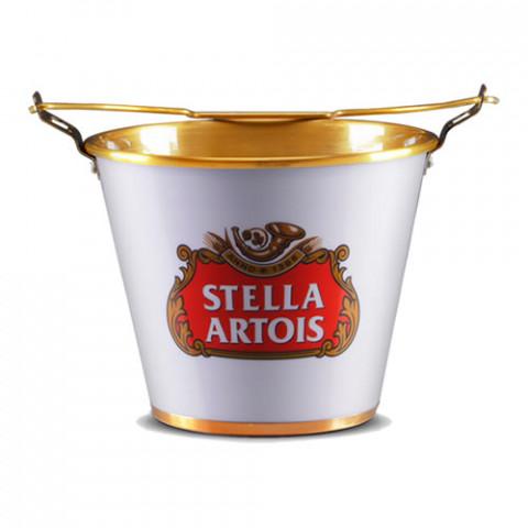 Balde De Gelo Em Alumínio Stella Artois