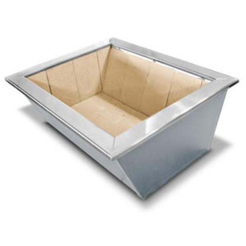 Câmara De Fogo Inox Para Embutir 70x50