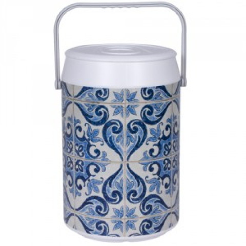 Cooler Ceramica Mexicana 24 Latas - Anabell