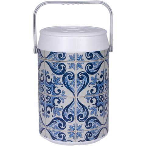 Cooler Com Estampa Cerâmica Mexicana 42 Latas - Anabell