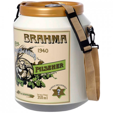 Cooler Da Brahma Edição Histórica 1940 12 Latas - Doctor Cooler