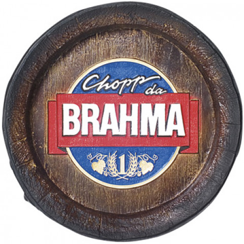 Fundo De Barril Decorativo Da Brahma Chopp