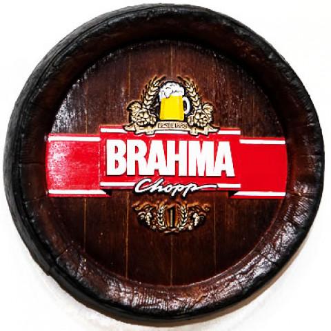 Fundo De Barril Decorativo Da Brahma