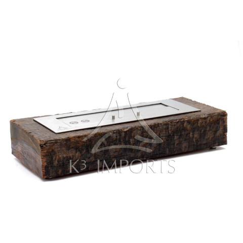 Lareira Ecológica À Álcool (Etanol) Modelo Loa De 58cm Com Queimador De 46cm