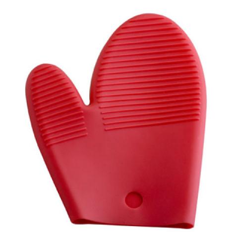 Luva De Silicone Polegar Vermelha - Quadrifoglio