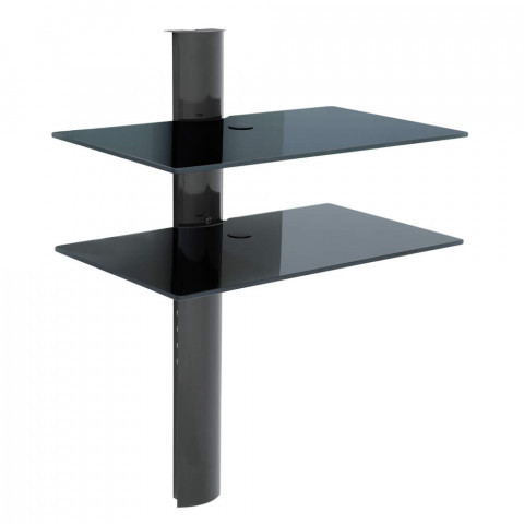 Rack De Tvs - Airon Simply 45/2 Black Glass Black