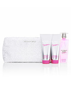 Angel Dream Gift White Clutch Sequin Clutch Bag Gift Set Victoria's Secret