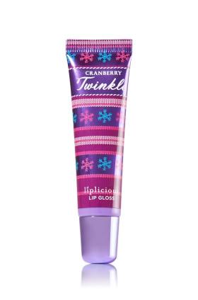Aromatherapy Cranberry Twinkle Lip Gloss Bath & Body Works