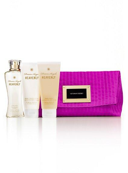 Clutch Dream Angels Violeta em Tecido Acetinado Victoria's Secret (Não acompanha produtos)