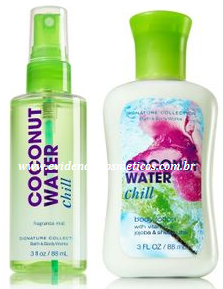 Coconut Water Travel Size Body Care Bundle 88ml Bath & Body Works