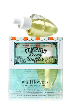 ESSÊNCIA Bath Body Works Wallflowers 2 Pack Refills Pumpkin Pecan Waffles