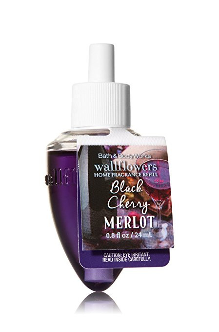 ESSÊNCIA Bath Body Works Wallflowers Aromatizador de Ambiente Refil Black Cherry Merlot