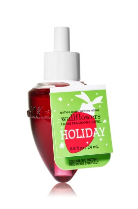 ESSÊNCIA Bath & Body Works Wallflowers Aromatizador de Ambiente Refil Holiday