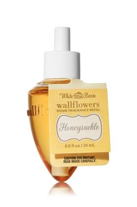 ESSÊNCIA Bath & Body Works Wallflowers Aromatizador de Ambiente Refil Honeysuckle
