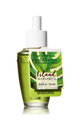 ESSÊNCIA Bath & Body Works Wallflowers Aromatizador de Ambiente Refil Island Margarita
