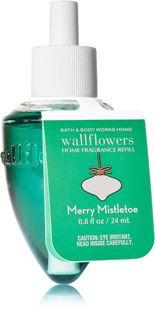 ESSÊNCIA Bath & Body Works Wallflowers Aromatizador de Ambiente Refil Merry Mistletoe