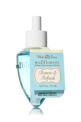 ESSÊNCIA Bath & Body Works Wallflowers Aromatizador de Ambiente Refil White Barn Renew & Refresh
