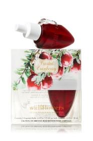 ESSÊNCIA Bath Body Works Wallflowers Difusor Elétrico Aromatizador de Ambiente Refil Bulb 2 Pack Frosted Cranberry