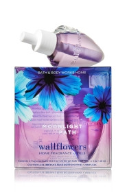 ESSÊNCIA Bath & Body Works Wallflowers Difusor Elétrico Aromatizador de Ambiente Refil Bulb 2-Pack Refill Moonlight Path