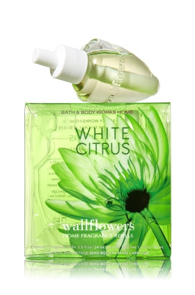 ESSÊNCIA Bath Body Works Wallflowers Refil Bulb caixa com 2 White Citrus