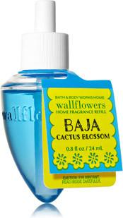 ESSÊNCIA Bath & Body Works Wallflowers Difusor Elétrico Aromatizador de Ambiente Refil Bulb Baja Cactus Blossom