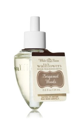 ESSÊNCIA Bath Body Works Wallflowers Difusor Elétrico Aromatizador de Ambiente Refil Bulb Bergamot Waters