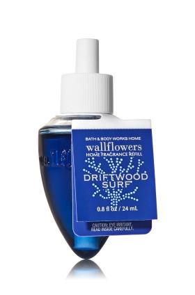 ESSÊNCIA Bath & Body Works Wallflowers Difusor Elétrico Aromatizador de Ambiente Refil Bulb Driftwood Surf